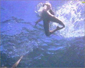 Blue lagoon nude scene clip